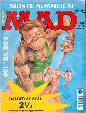 MAD Magazine #99 • Denmark • 2nd Edition - Semic