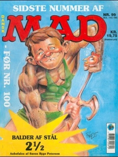 Go to MAD Magazine #99 • Denmark • 2nd Edition - Semic