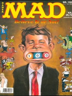 Go to MAD Magazine #100 • Denmark • 2nd Edition - Semic
