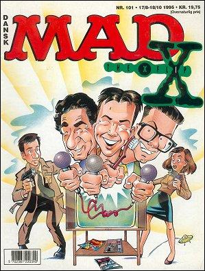 MAD Magazine #101 • Denmark • 2nd Edition - Semic