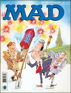 MAD Magazine #103 • Denmark • 2nd Edition - Semic