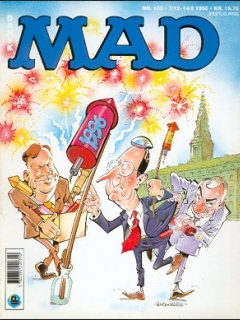 MAD Magazine #103 • Denmark • 2nd Edition - Semic
