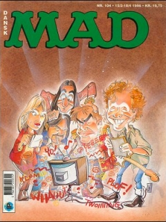 Go to MAD Magazine #104 • Denmark • 2nd Edition - Semic