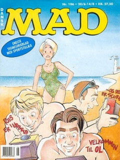 Go to MAD Magazine #106 • Denmark • 2nd Edition - Semic