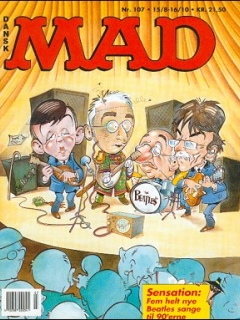 Go to MAD Magazine #107 • Denmark • 2nd Edition - Semic