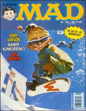 MAD Magazine #109 • Denmark • 2nd Edition - Semic
