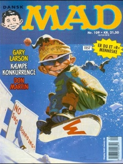 Go to MAD Magazine #109 • Denmark • 2nd Edition - Semic