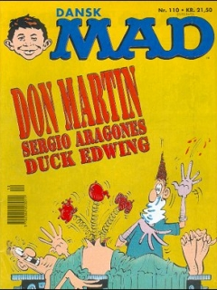 MAD Magazine #110 • Denmark • 2nd Edition - Semic