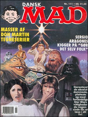 MAD Magazine #111 • Denmark • 2nd Edition - Semic