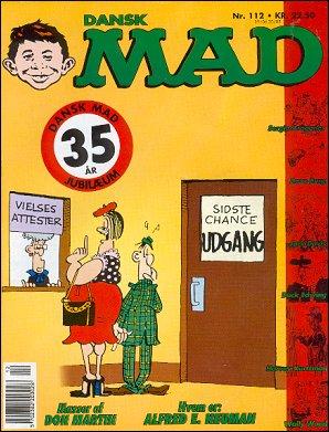 MAD Magazine #112 • Denmark • 2nd Edition - Semic