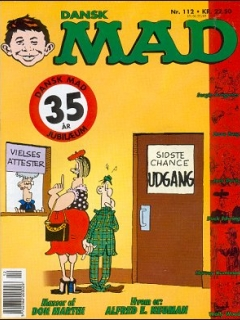 Go to MAD Magazine #112 • Denmark • 2nd Edition - Semic