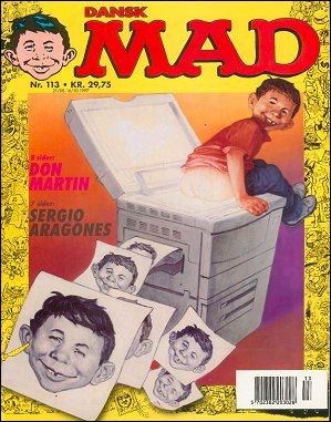 MAD Magazine #113 • Denmark • 3rd Edition - Egmont