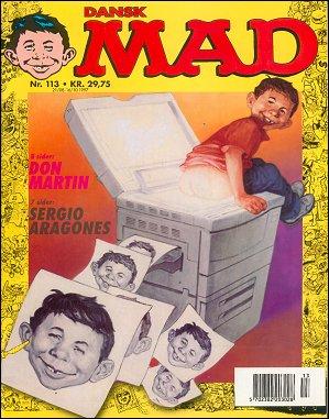 MAD Magazine #113 • Denmark • 3rd Edition - Egmont
