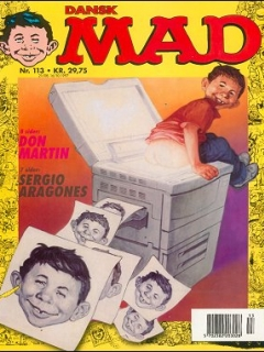MAD Magazine #113 (Denmark)