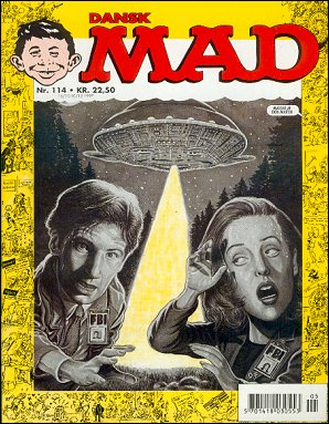MAD Magazine #114 • Denmark • 3rd Edition - Egmont