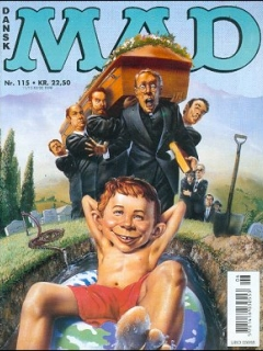 MAD Magazine #115 • Denmark • 3rd Edition - Egmont