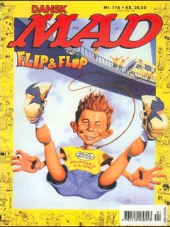 MAD Magazine #116 • Denmark • 3rd Edition - Egmont