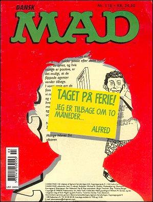 MAD Magazine #118 • Denmark • 3rd Edition - Egmont