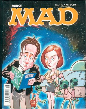 MAD Magazine #119 • Denmark • 3rd Edition - Egmont