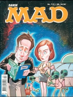Go to MAD Magazine #119 • Denmark • 3rd Edition - Egmont