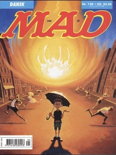 MAD Magazine #120 • Denmark • 3rd Edition - Egmont