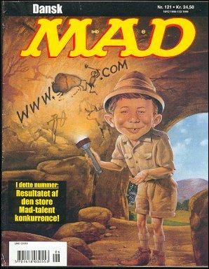 MAD Magazine #121 • Denmark • 3rd Edition - Egmont