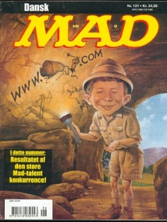Go to MAD Magazine #121 • Denmark • 3rd Edition - Egmont