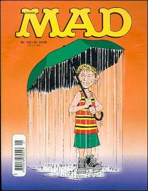 MAD Magazine #122 • Denmark • 3rd Edition - Egmont