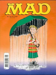 Go to MAD Magazine #122 • Denmark • 3rd Edition - Egmont