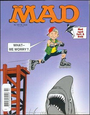 MAD Magazine #123 • Denmark • 3rd Edition - Egmont