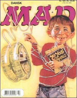 MAD Magazine #125 • Denmark • 3rd Edition - Egmont