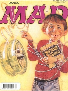 MAD Magazine #125 • Denmark • 3rd Edition - Egmont