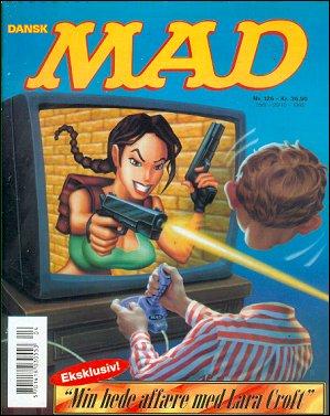 MAD Magazine #126 • Denmark • 3rd Edition - Egmont