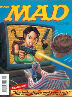 Go to MAD Magazine #126 • Denmark • 3rd Edition - Egmont
