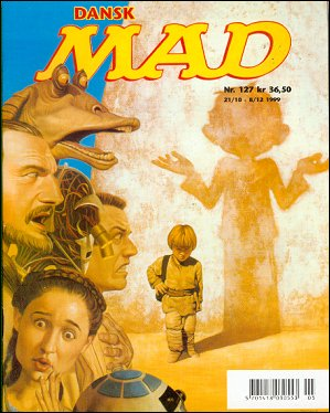 MAD Magazine #127 • Denmark • 3rd Edition - Egmont