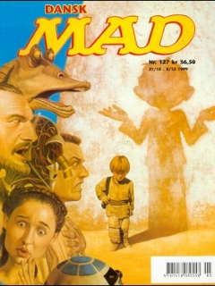 Go to MAD Magazine #127 • Denmark • 3rd Edition - Egmont