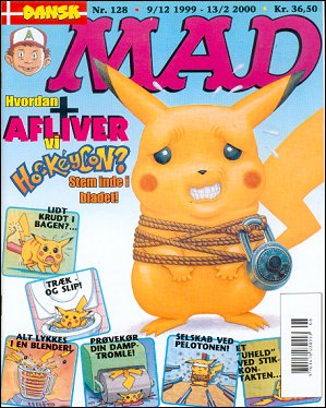 MAD Magazine #128 • Denmark • 3rd Edition - Egmont
