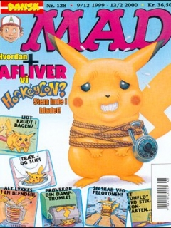 Go to MAD Magazine #128 • Denmark • 3rd Edition - Egmont