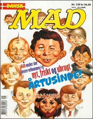 MAD Magazine #129 • Denmark • 3rd Edition - Egmont