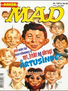 Go to MAD Magazine #129 • Denmark • 3rd Edition - Egmont