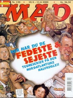 Go to MAD Magazine #130 • Denmark • 3rd Edition - Egmont