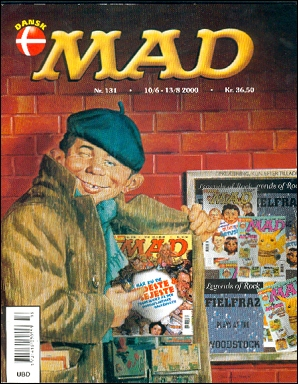 MAD Magazine #131 • Denmark • 3rd Edition - Egmont