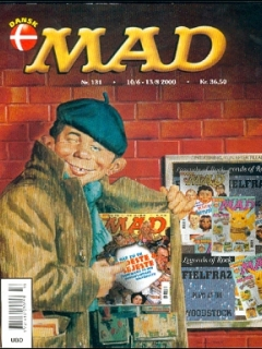 MAD Magazine #131 • Denmark • 3rd Edition - Egmont