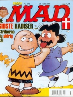 Go to MAD Magazine #132 • Denmark • 3rd Edition - Egmont
