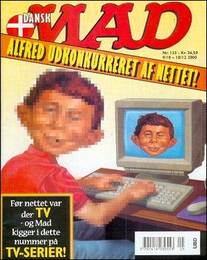 MAD Magazine #133 • Denmark • 3rd Edition - Egmont