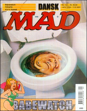 MAD Magazine #134 • Denmark • 3rd Edition - Egmont