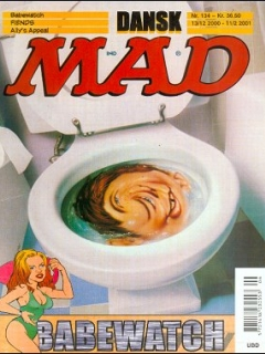 Go to MAD Magazine #134 • Denmark • 3rd Edition - Egmont