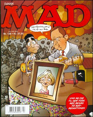MAD Magazine #136 • Denmark • 3rd Edition - Egmont