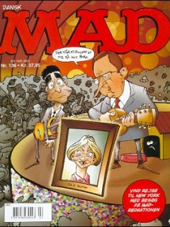 Go to MAD Magazine #136 • Denmark • 3rd Edition - Egmont