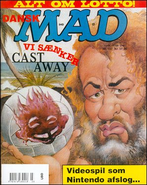 MAD Magazine #137 • Denmark • 3rd Edition - Egmont